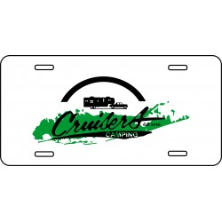 Aluminum License Plates 6 x 12